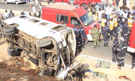 Accident de la circulation: 4 militants de l'Apr tués et 25 blessés